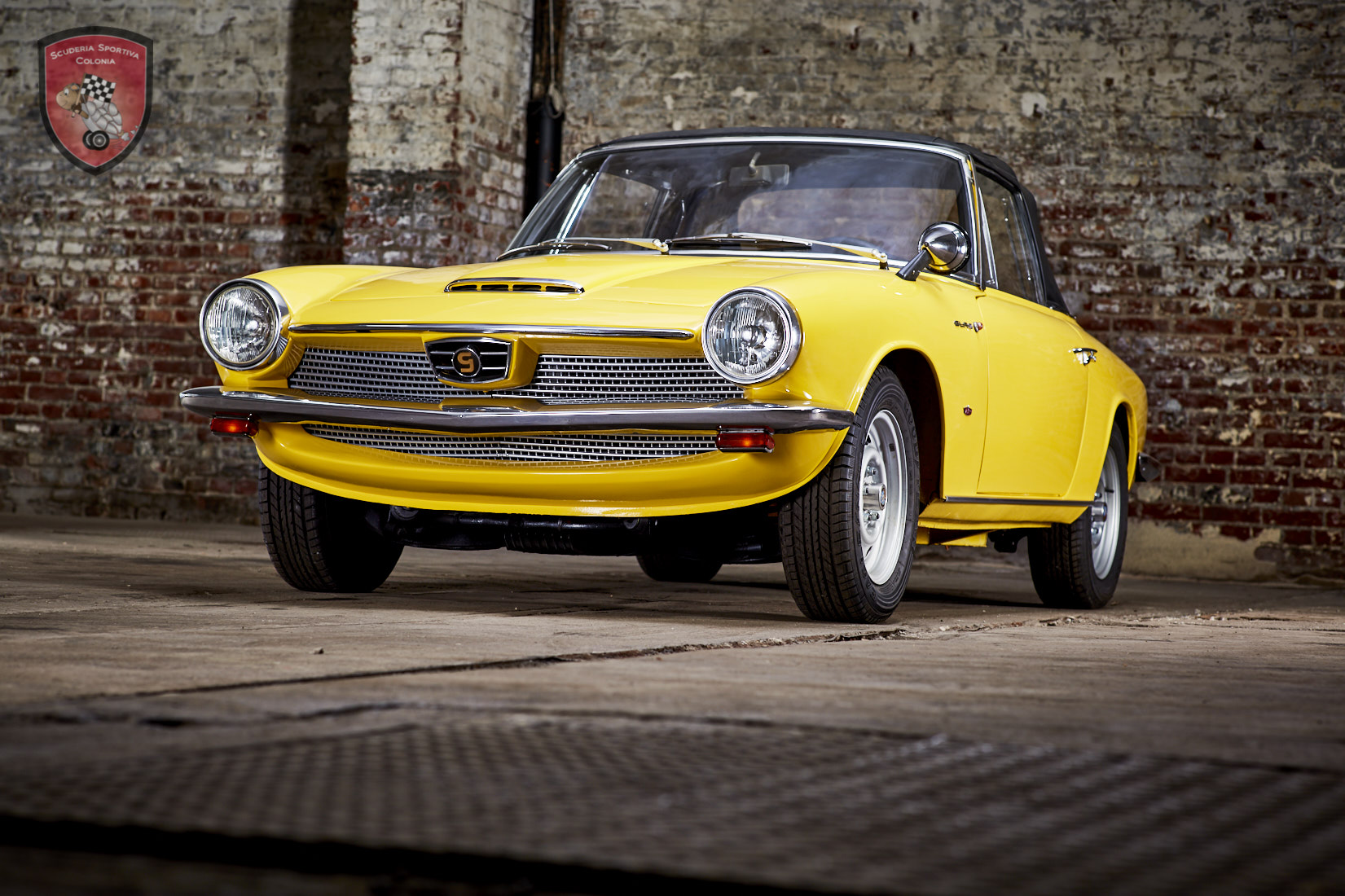 1966年グラス GT 1700 コンパーチブル